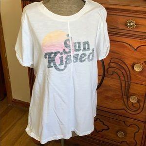 Sun kissed cotton tshirt